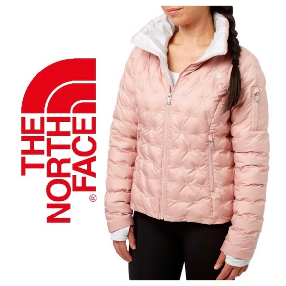 a1eadb1b23c The North Face Women s Holladown Crop Jacket Rose